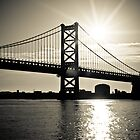 Ben Franklin Bridge by Vincent Feliciano