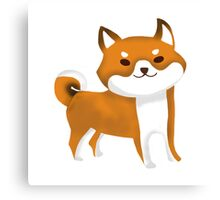 Chibi Doge Canvas Print