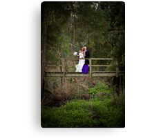 Laura and Stephen Canvas Print
