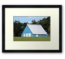 Designer Barn Framed Print