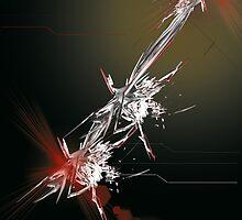 Tech abstract by humanwurm