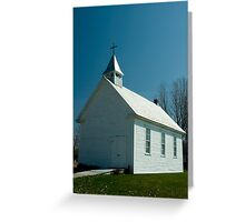The Church, Lost Villages, Cornwall, Ontario Greeting Card