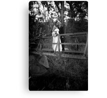 Stephen and Laura Canvas Print