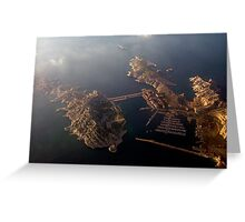 Ille Frioul  - Marseille - france Greeting Card