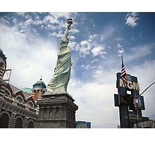 New York and MGM Photographic Print