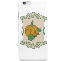 Gardener's Delight | Pumpkin iPhone Case/Skin