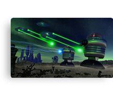 Alien Attack 1 Canvas Print