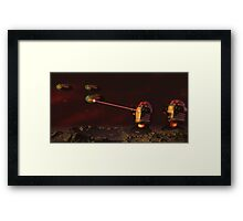 Alien Attack 2 Framed Print