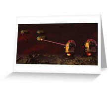 Alien Attack 2 Greeting Card