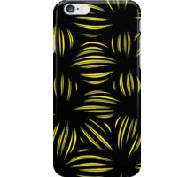 Gabisi Abstract Expression Yellow Black iPhone Case/Skin