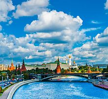 Calendar Moscow Kremlin 2015 and 2016. June by luckypixel