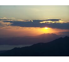 Grand Canyon sunset 10 Photographic Print