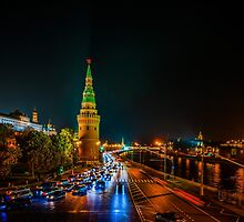 Calendar Moscow Kremlin 2015 and 2016. July by luckypixel