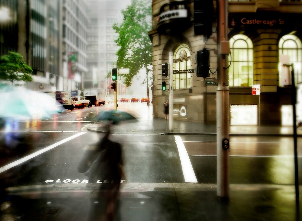 Sydney Downpour by Craig Mitchell