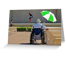 Balboa Park--San Diego Contrasts Greeting Card
