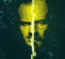 Breaking bad Heisenberg and jesse pinkman portrait  by I am  Loudness