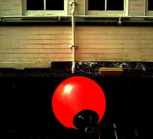 Red buoy by milton ginos