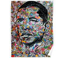 Barack O. Paisley Poster