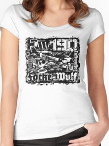 Fw 190 Women's Fitted Scoop T-Shirt