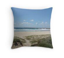 (9)-Main beach Throw Pillow
