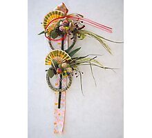 Traditional Japanese New Year decoration  Photographic Print