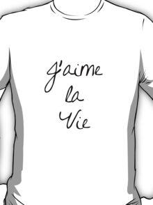 J'aime la Vie T-Shirt
