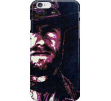 Clint eastwood portrait iPhone Case/Skin