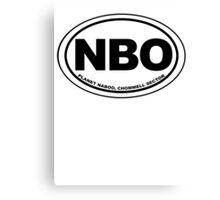 Naboo Destination Canvas Print