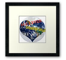 All I ever wanted Framed Print