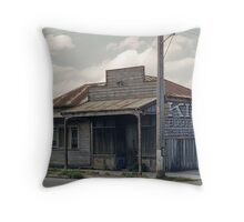 Boot Repairs Shop at Spry Street Sydney Road 19580301 0019 Throw Pillow
