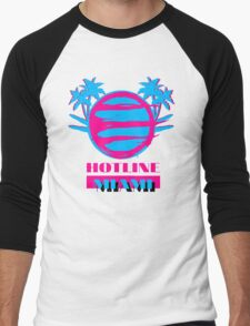 Hotline Miami: Vice Men's Baseball ¾ T-Shirt
