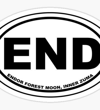 Endor Destination Sticker