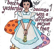 Alice in Wonderland by neuroticowl