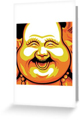 Laughing Buddha by Jacqueline Gwynne