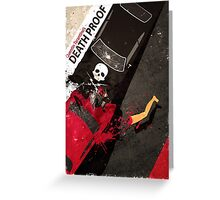 death proof quentin tarantino movie Greeting Card