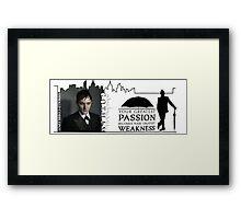 Gotham -- Penguin -- Greatest Weakness Framed Print