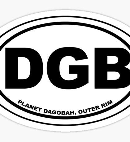 Dagobah Destination Sticker