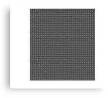 Retro Squares Pattern Canvas Print
