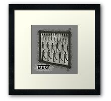 Muse - Drones (Marching) Framed Print