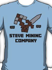 Steve Mining Company Logo T-Shirt