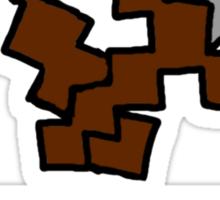 Steve Mining Company Logo Sticker
