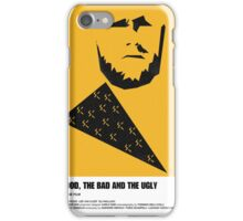 the good, bad ugly clint eastwood western movie poster iPhone Case/Skin