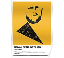 the good, bad ugly clint eastwood western movie poster Poster