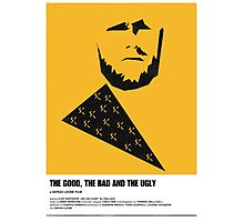 the good, bad ugly clint eastwood western movie poster Photographic Print