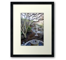 Place of Reflection Framed Print