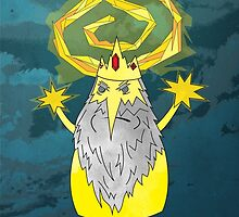 ice yellow king adventure time and true detective mashup by I am  Loudness