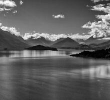 Lake Wakatipu 2 by Charles Kosina