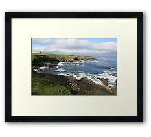 Mullaghmore coastline Framed Print