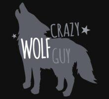 Crazy Wolf Guy by jazzydevil