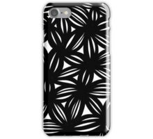 Mayor Abstract Expression Black and White iPhone Case/Skin